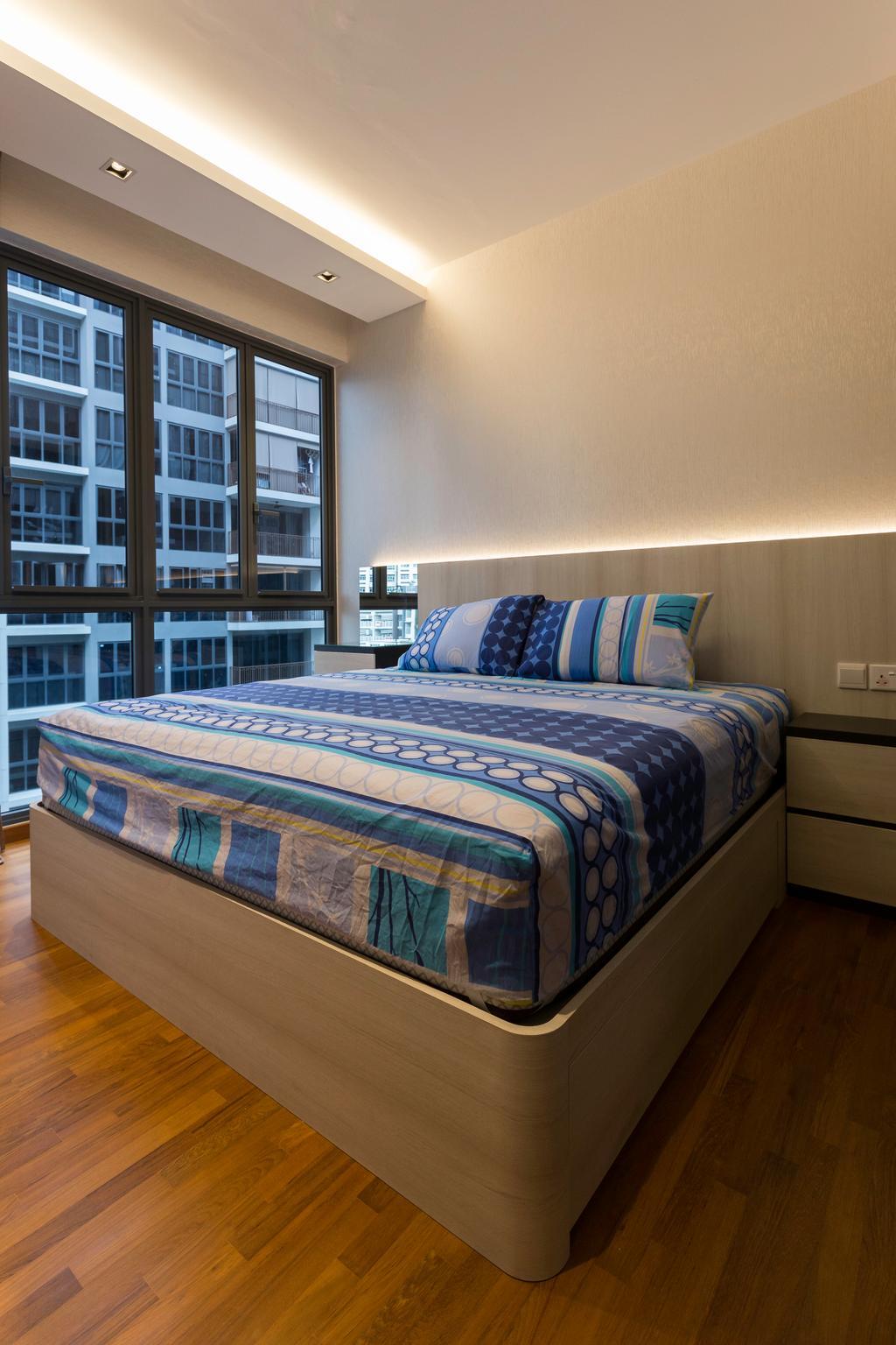 Contemporary, Condo, Bedroom, Signature @ Yishun, Interior Designer, ECasa Studio