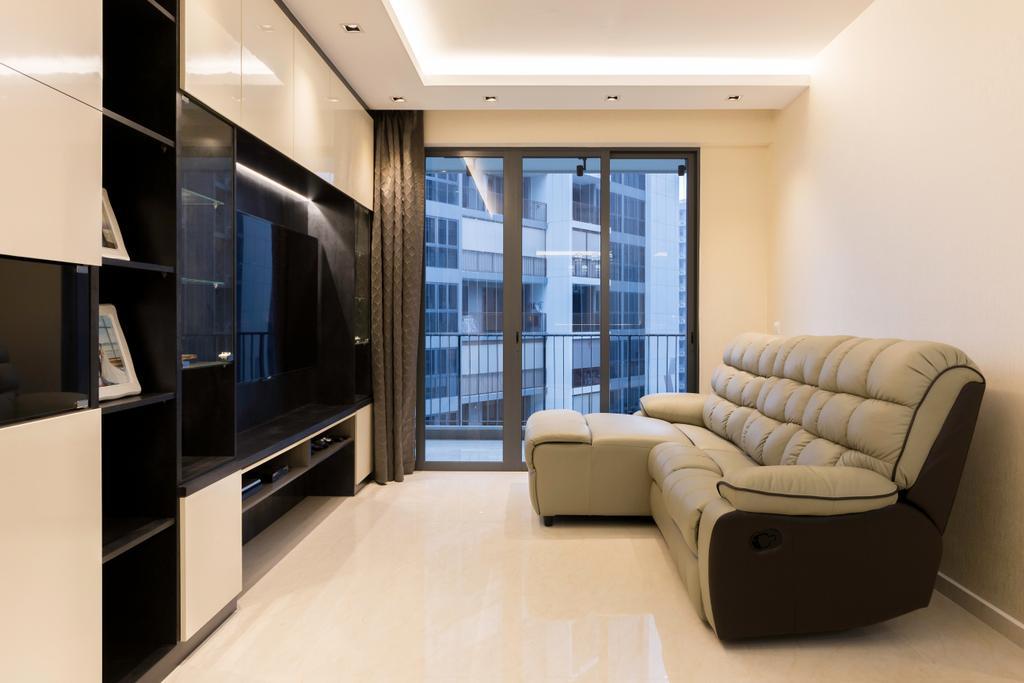 Contemporary, Condo, Signature @ Yishun, Interior Designer, ECasa Studio