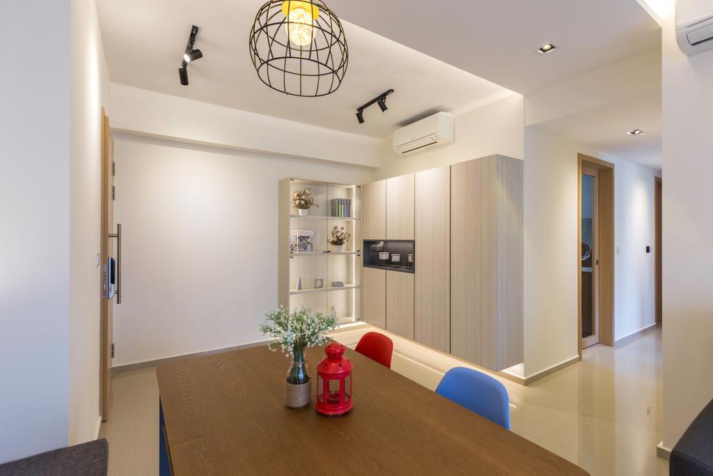 Contemporary, Condo, Dining Room, Parc Life, Interior Designer, T&T Design Artisan