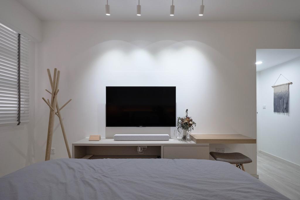 Scandinavian, HDB, Bukit Batok West Avenue 8, Interior Designer, Lemonfridge Studio
