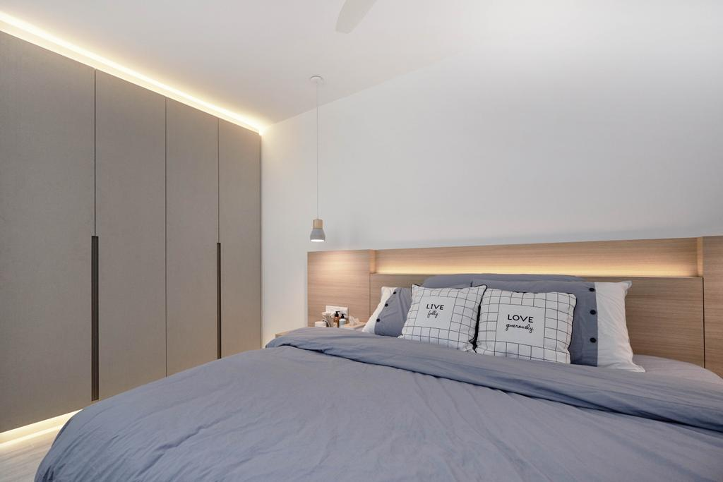 Scandinavian, HDB, Bedroom, Bukit Batok West Avenue 8, Interior Designer, Lemonfridge Studio
