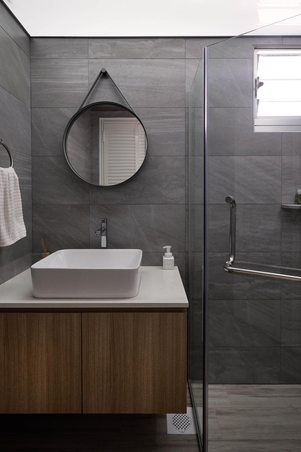 Scandinavian, HDB, Bathroom, Bukit Batok West Avenue 8, Interior Designer, Lemonfridge Studio
