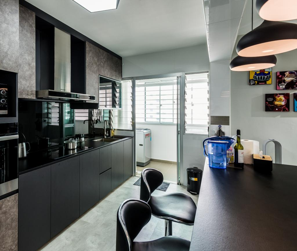 Contemporary, HDB, Dining Room, Yung Kuang Road, Interior Designer, Aria Home
