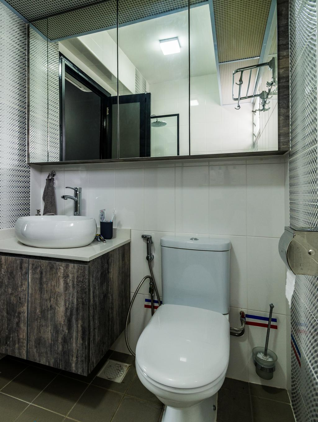 Contemporary, HDB, Bathroom, Yung Kuang Road, Interior Designer, Aria Home