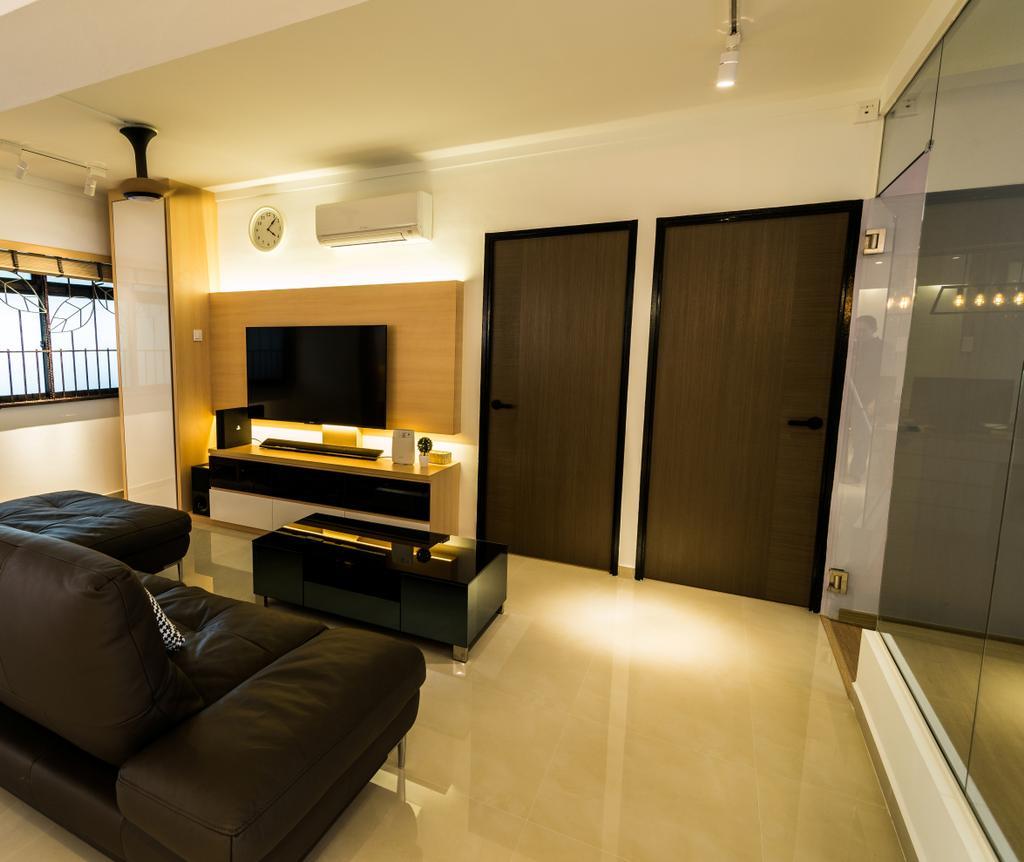 Contemporary, HDB, Senja Road, Interior Designer, Aria Home
