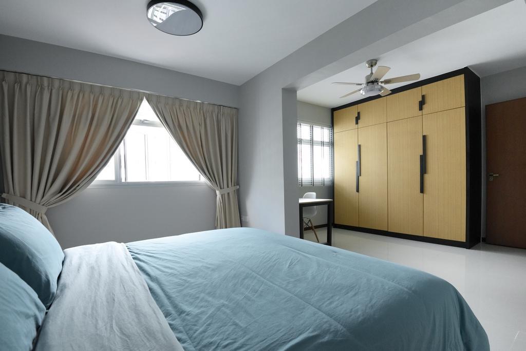 Contemporary, HDB, Bedroom, Yishun Ring Road, Interior Designer, Charlotte's Carpentry
