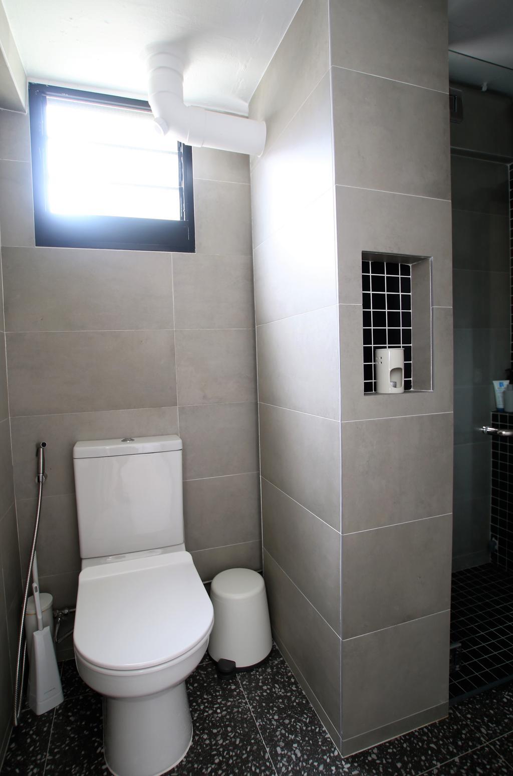 Contemporary, HDB, Bathroom, Upper Cross Street, Interior Designer, Intrigue-d Design Consultancy
