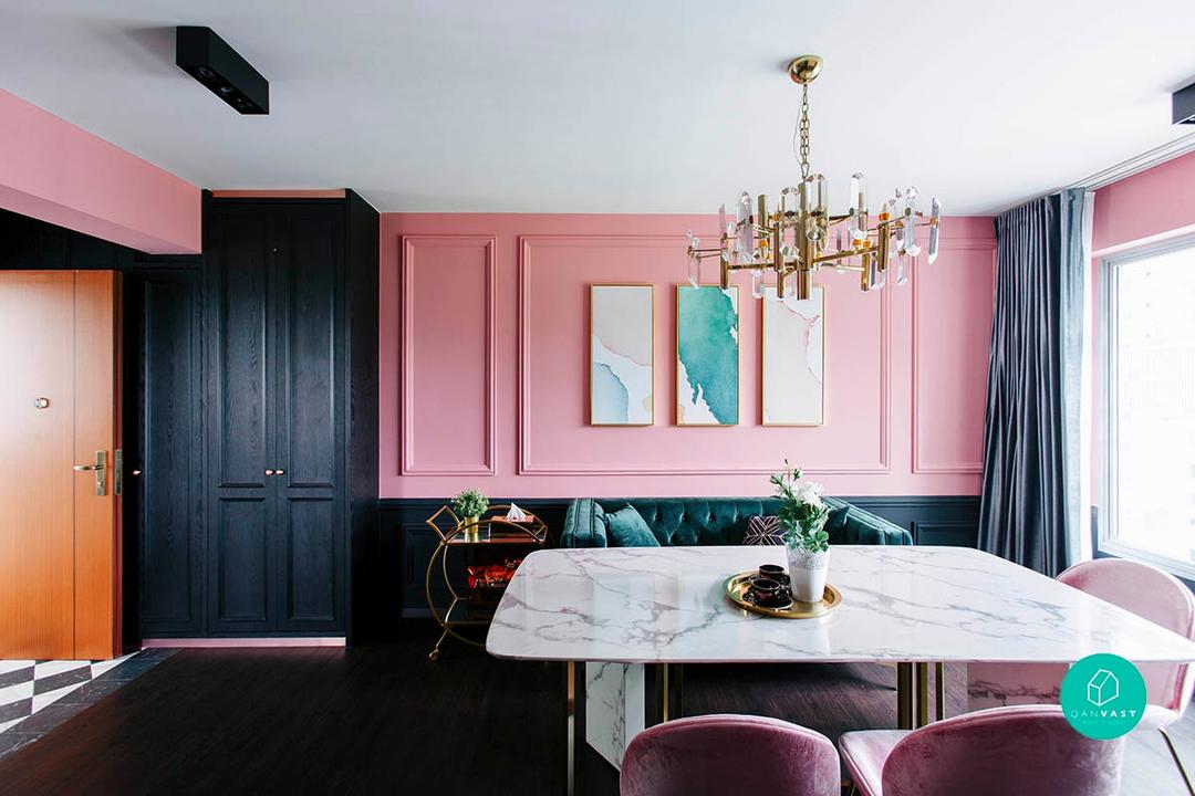 Modern Victorian 'Pink' House in Telok Blangah by The Scientist 7