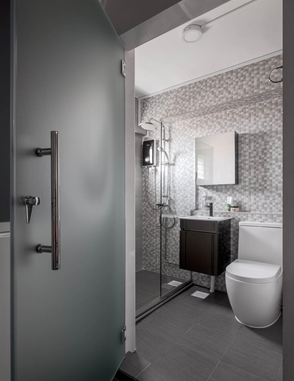 Contemporary, HDB, Bathroom, Pasir Ris Street 51, Interior Designer, Weiken.com
