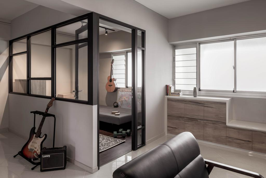 Contemporary, HDB, Living Room, Pasir Ris Street 51, Interior Designer, Weiken.com