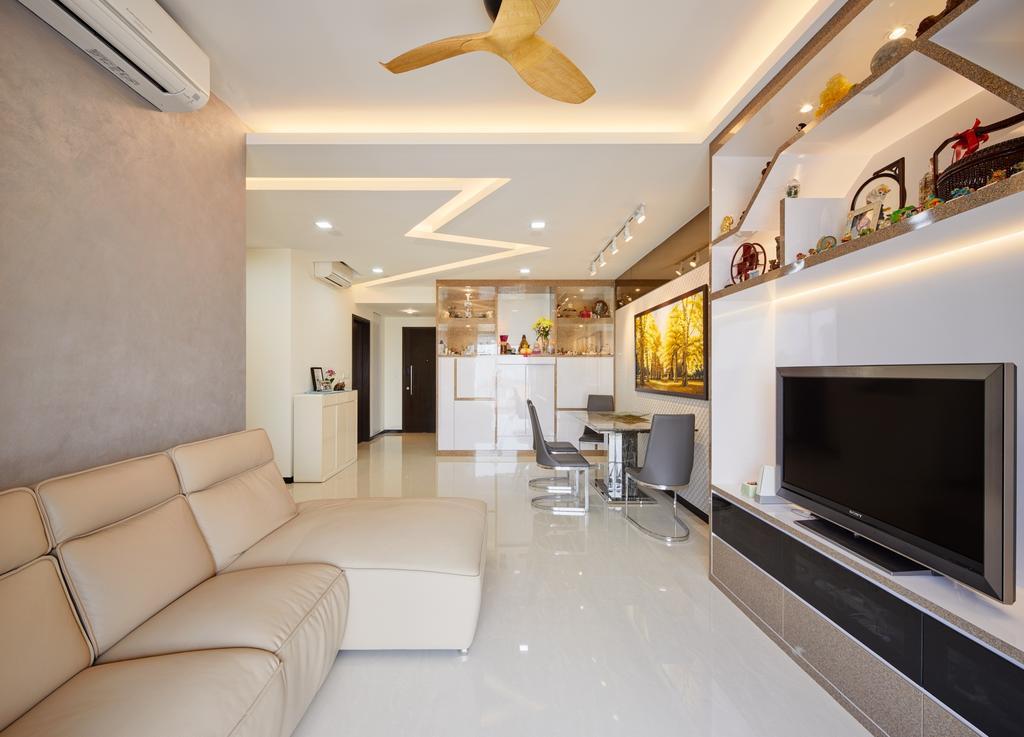 Contemporary, Condo, Living Room, Lake Life, Interior Designer, Absolook Interior Design