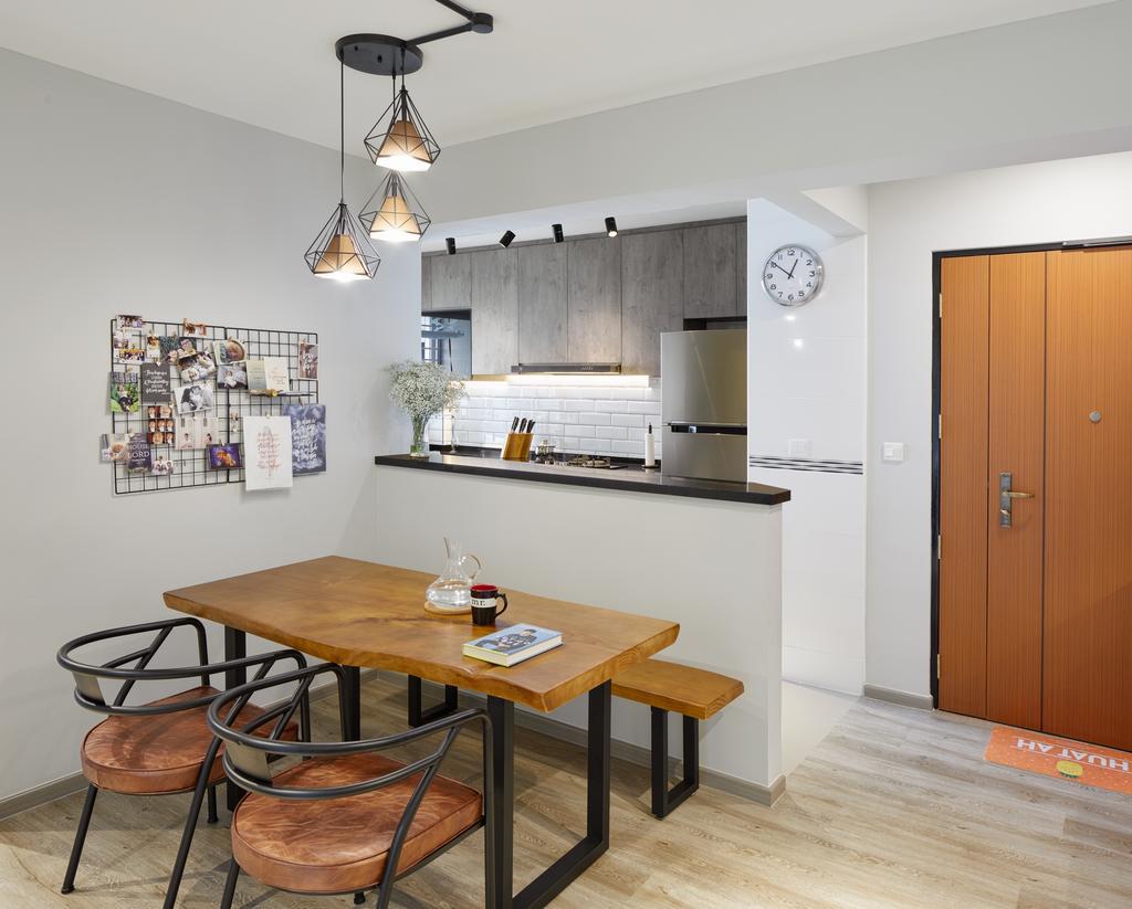 Contemporary, HDB, Dining Room, Telok Blangah Street 31 (Block 90A), Interior Designer, Absolook Interior Design