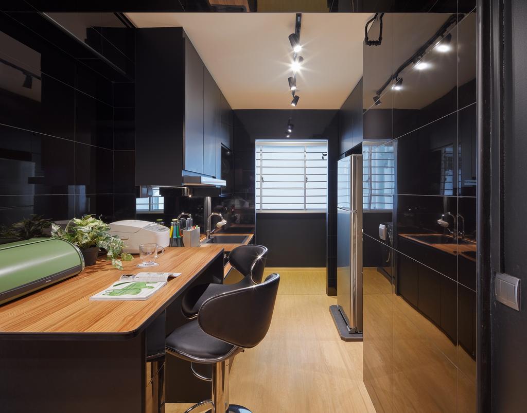 Contemporary, HDB, Study, Telok Blangah Street 31, Interior Designer, Absolook Interior Design