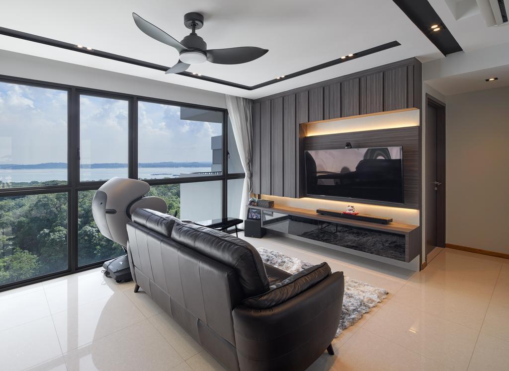 Contemporary, Condo, Living Room, Vue 8 Residence, Interior Designer, Absolook Interior Design