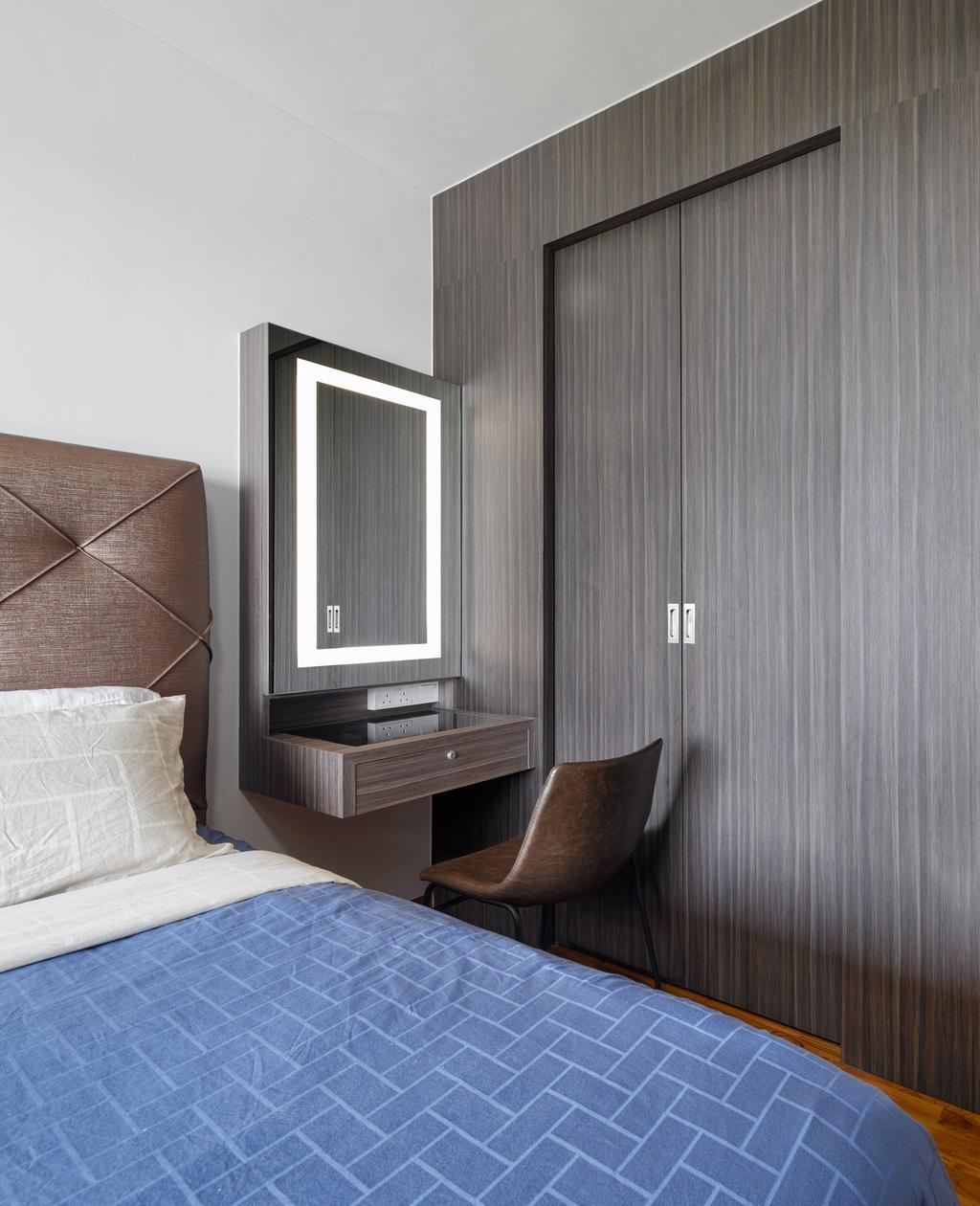 Contemporary, Condo, Bedroom, Vue 8 Residence, Interior Designer, Absolook Interior Design