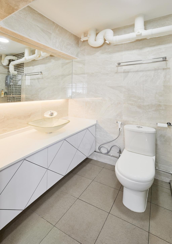 Contemporary, HDB, Bathroom, Depot Road (Block 104A), Interior Designer, Absolook Interior Design