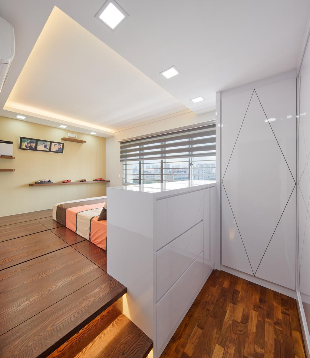 Contemporary, HDB, Bedroom, Depot Road (Block 104A), Interior Designer, Absolook Interior Design