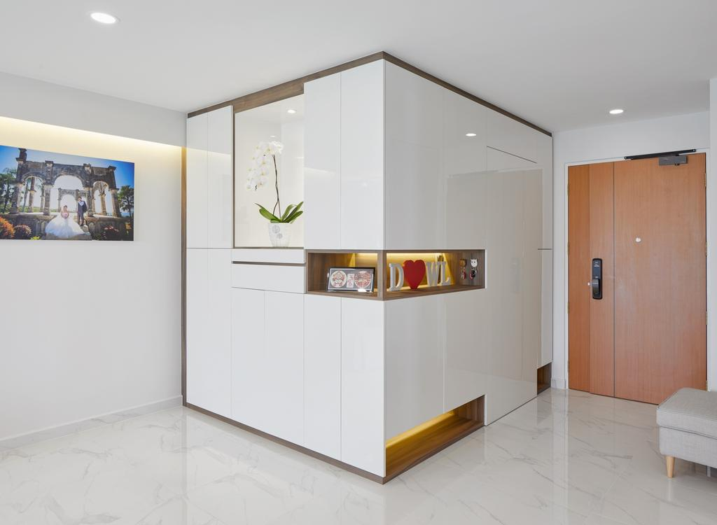Contemporary, HDB, Living Room, Canberra Walk, Interior Designer, Absolook Interior Design