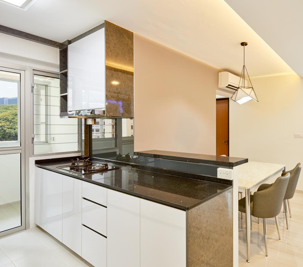 HDB, Dining Room, Depot Road (Block 110A), Interior Designer, Absolook Interior Design