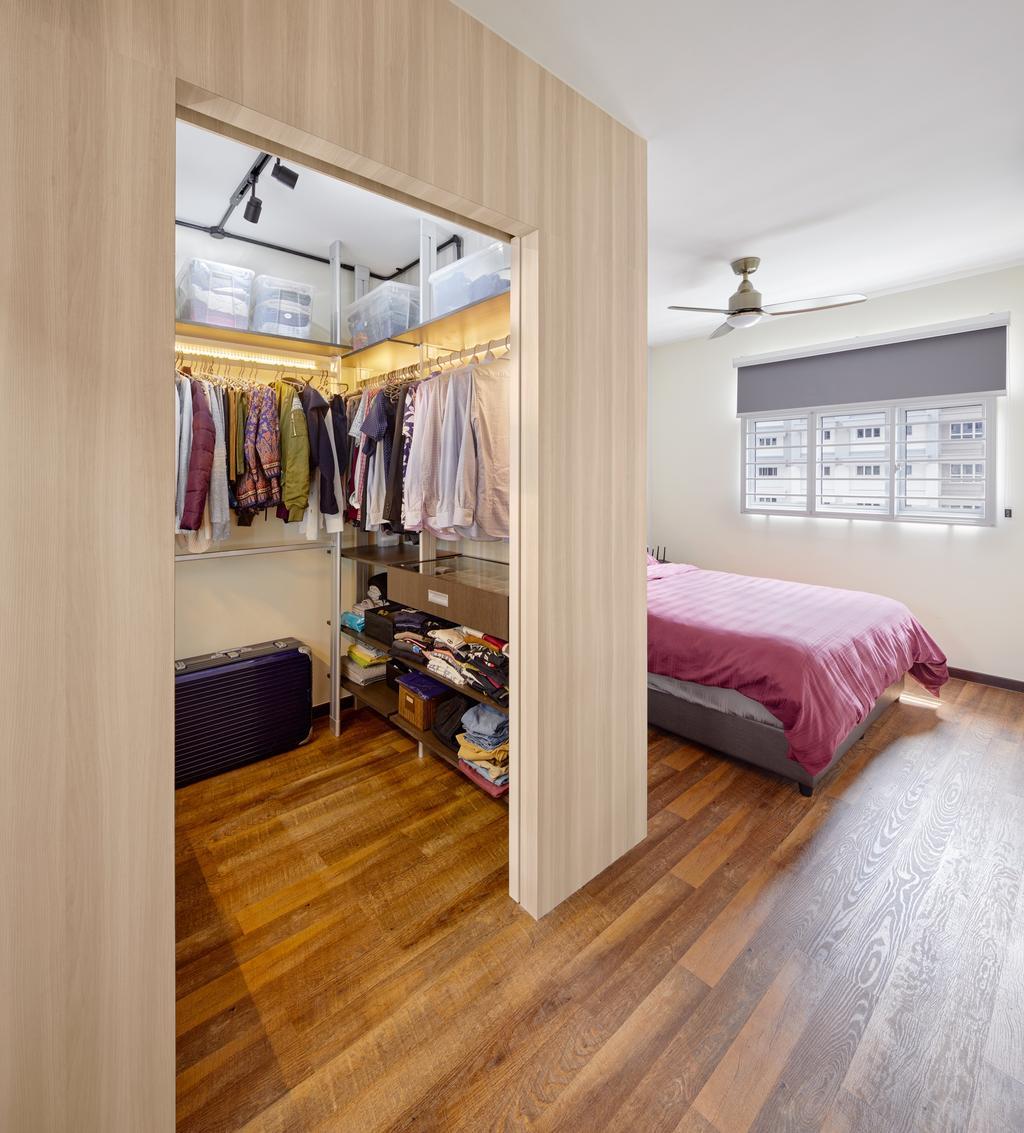 Contemporary, HDB, Bedroom, Canberra Crescent, Interior Designer, Absolook Interior Design