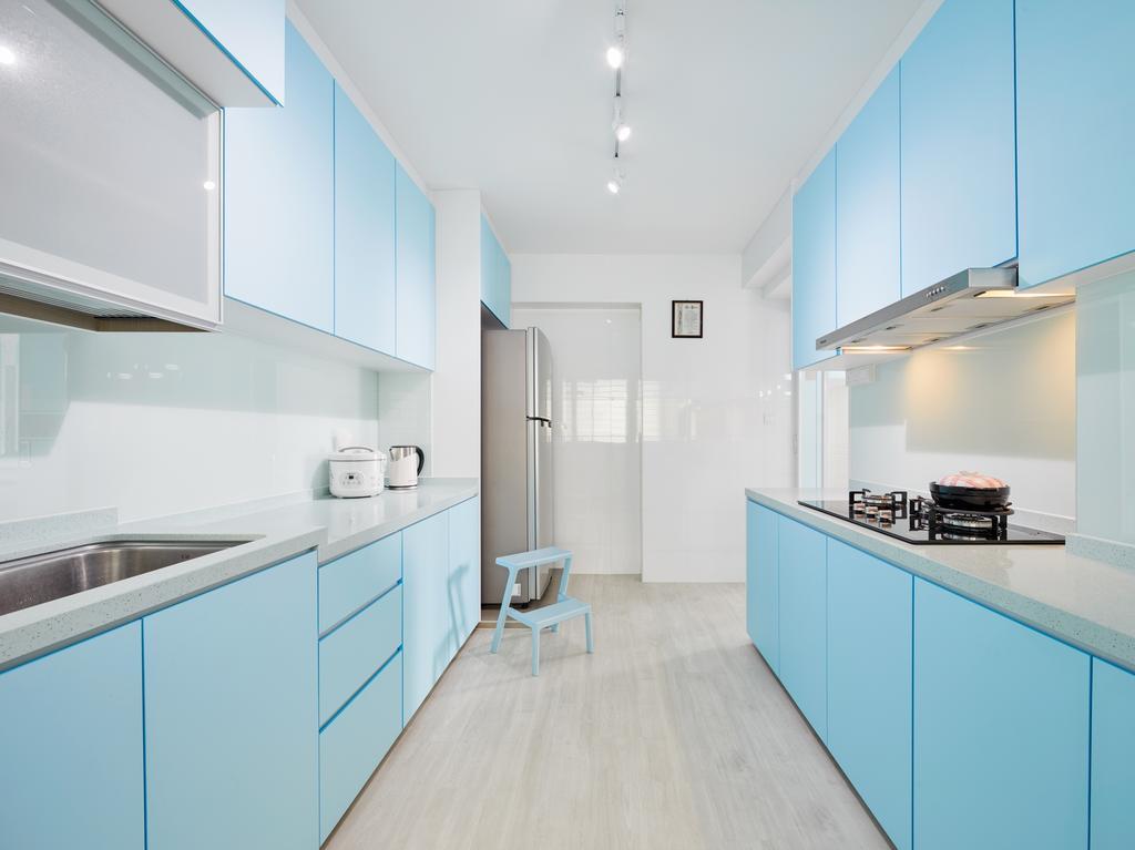 Contemporary, HDB, Kitchen, Canberra Street, Interior Designer, Absolook Interior Design
