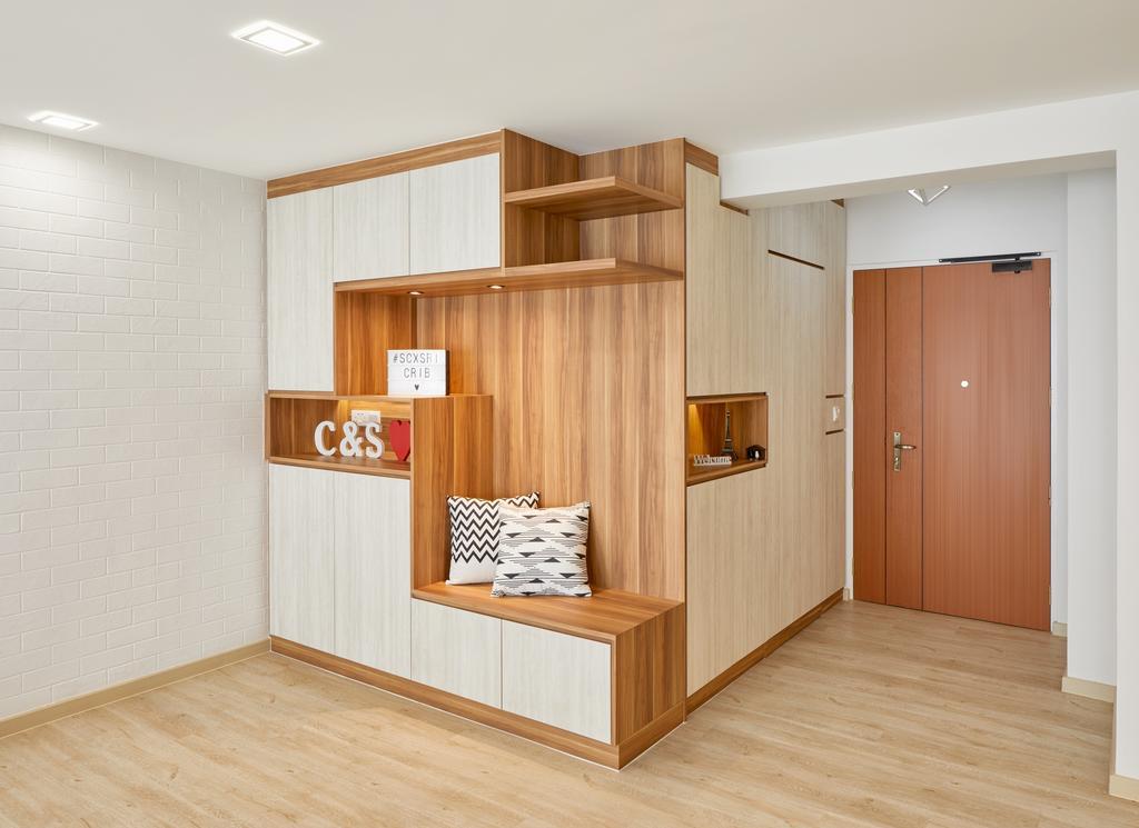 Contemporary, HDB, Canberra Street (Block 129A), Interior Designer, Absolook Interior Design