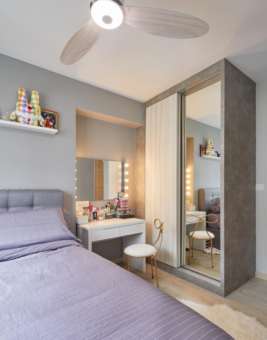 Contemporary, HDB, Bedroom, Canberra Street (Block 129A), Interior Designer, Absolook Interior Design