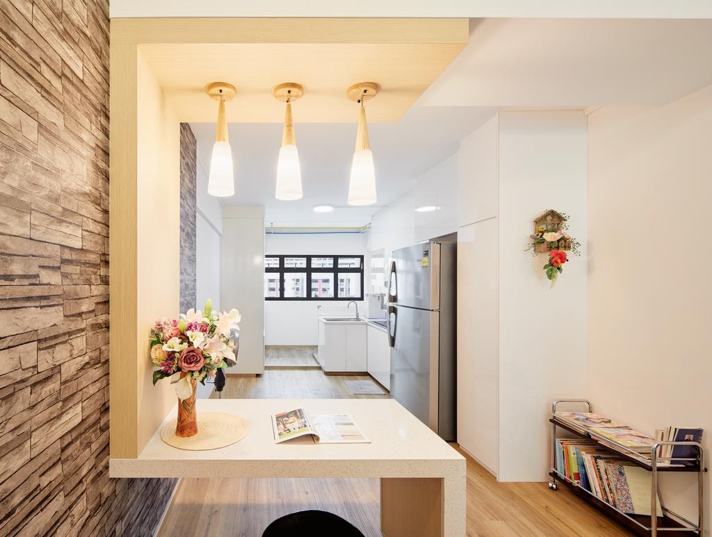 Contemporary, HDB, Dining Room, Jurong East Street 24, Interior Designer, Absolook Interior Design, Modern