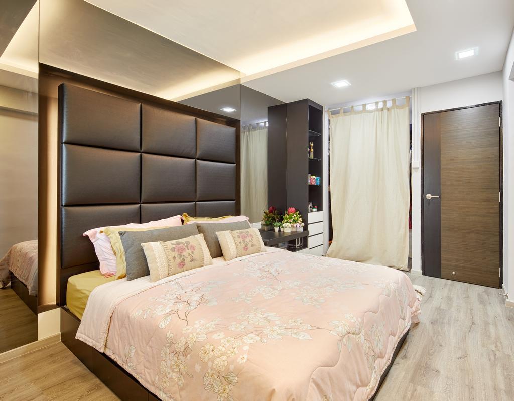 Contemporary, HDB, Bedroom, Jurong East Street 24, Interior Designer, Absolook Interior Design, Modern