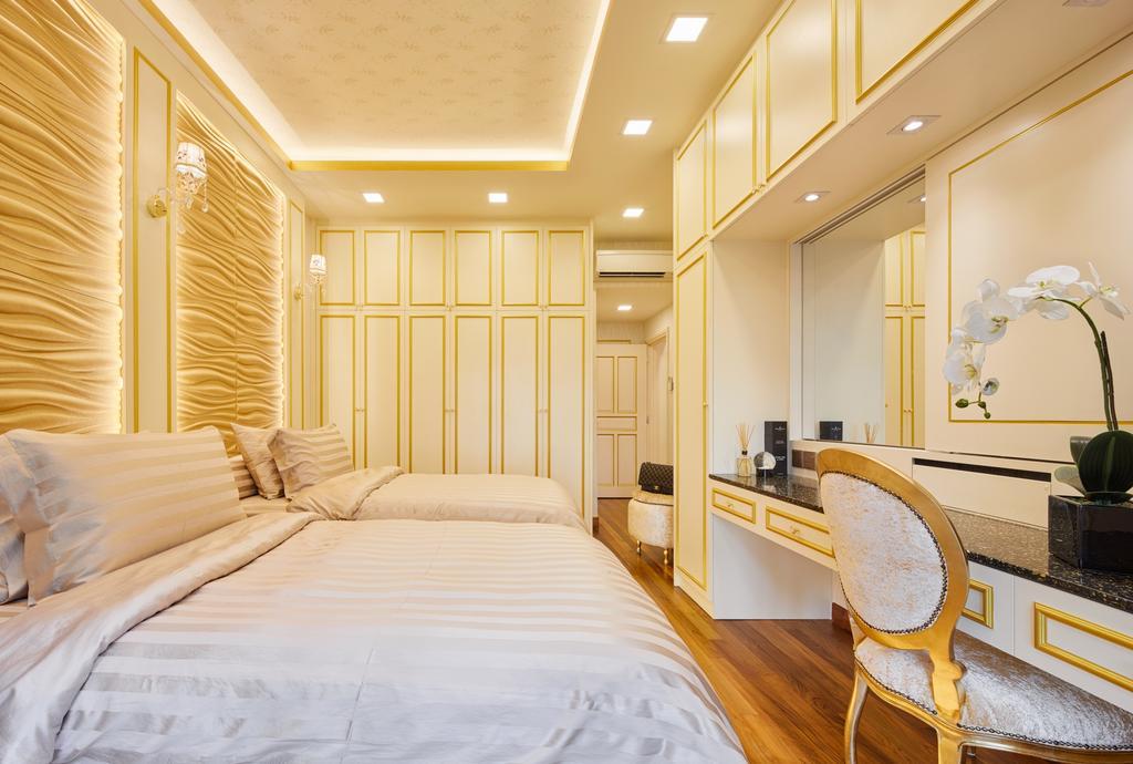 Contemporary, Condo, Bedroom, Aspen Heights, Interior Designer, Absolook Interior Design