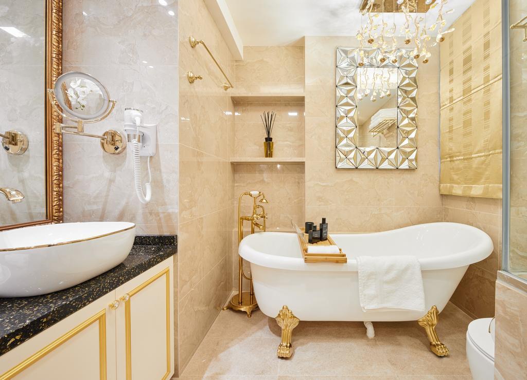 Contemporary, Condo, Bathroom, Aspen Heights, Interior Designer, Absolook Interior Design