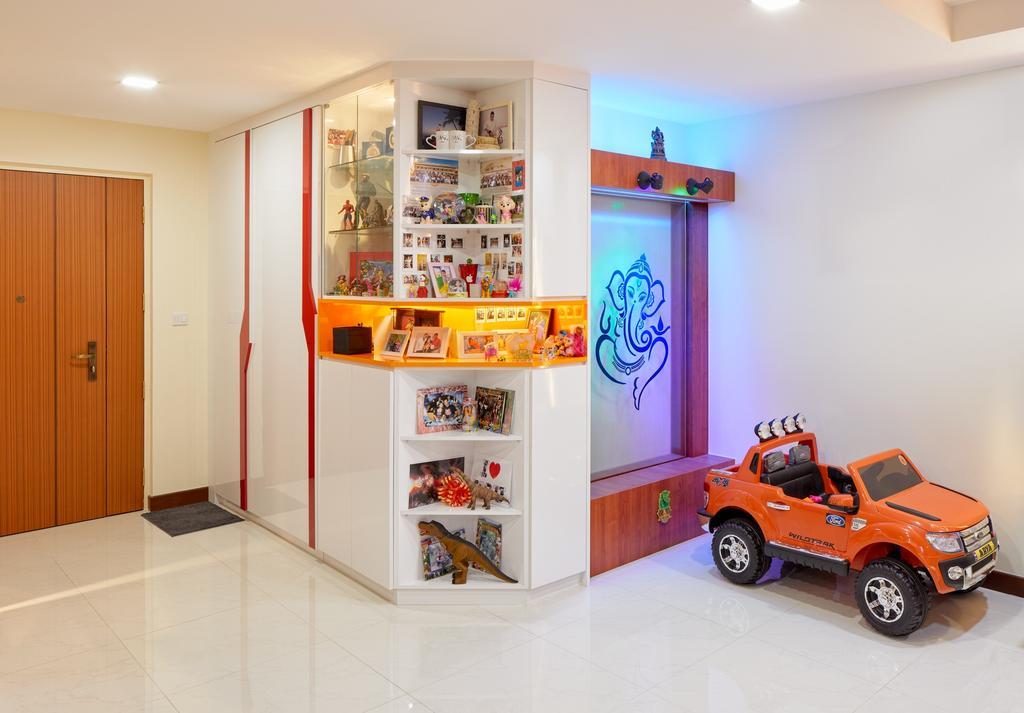 Contemporary, HDB, Living Room, Woodlands Rise (Block 783A), Interior Designer, Absolook Interior Design