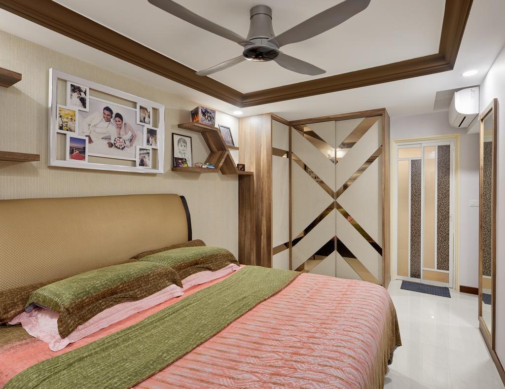 Contemporary, HDB, Bedroom, Woodlands Rise (Block 783A), Interior Designer, Absolook Interior Design