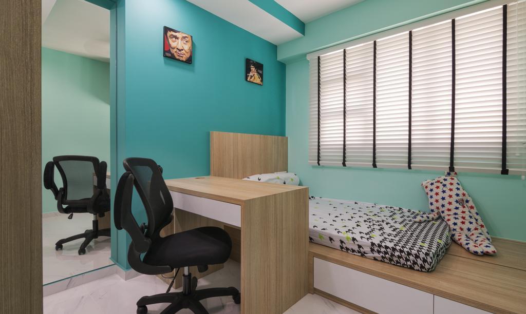 Contemporary, HDB, Edgedale Plains, Interior Designer, Swiss Interior Design