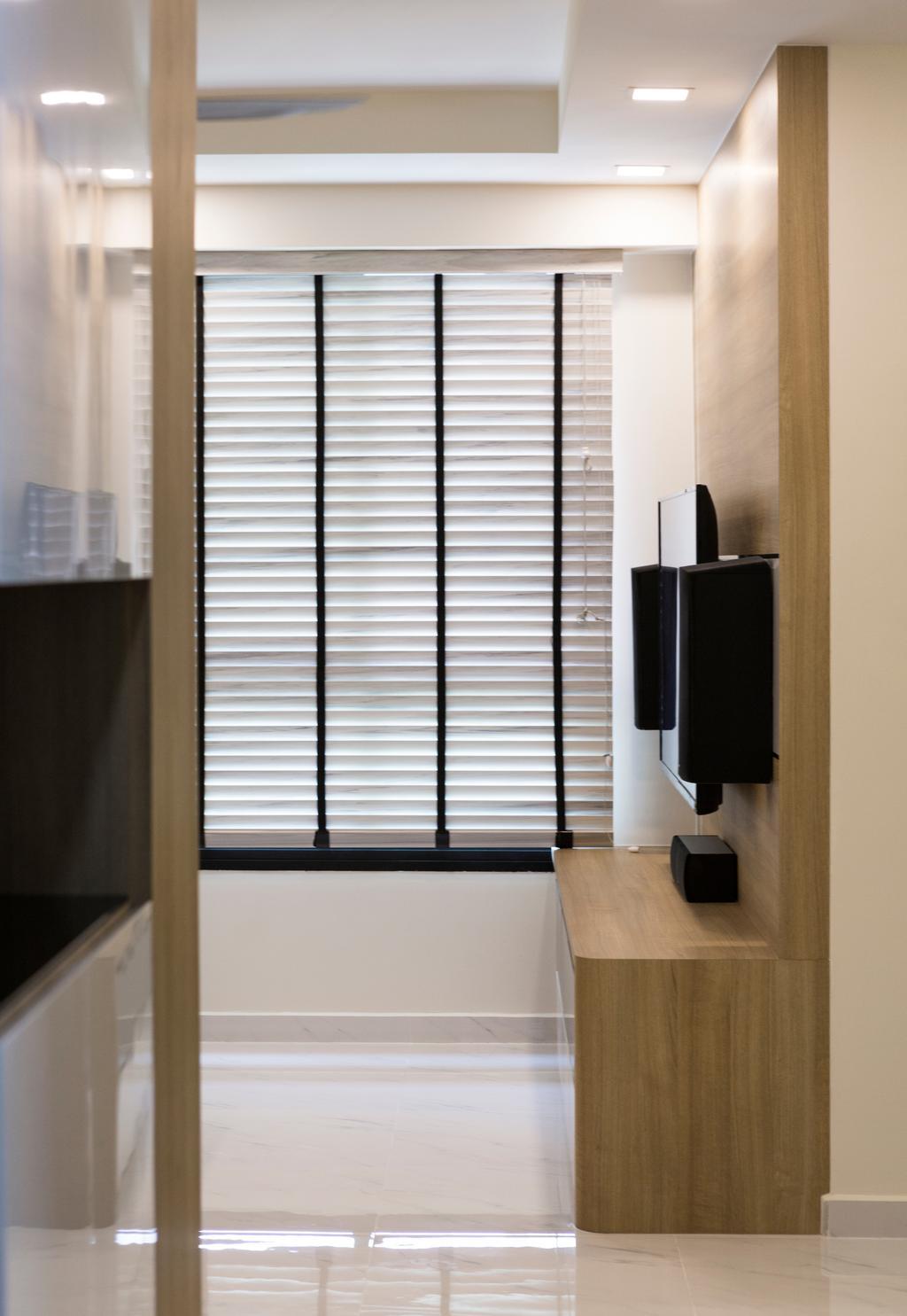 Contemporary, HDB, Living Room, Edgedale Plains, Interior Designer, Swiss Interior Design