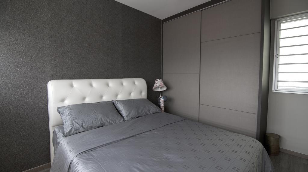 Contemporary, HDB, Bedroom, Yishun Avenue 11, Interior Designer, Swiss Interior Design, Industrial