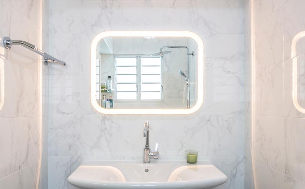 Contemporary, HDB, Bathroom, Hougang Avenue 9, Interior Designer, Swiss Interior Design