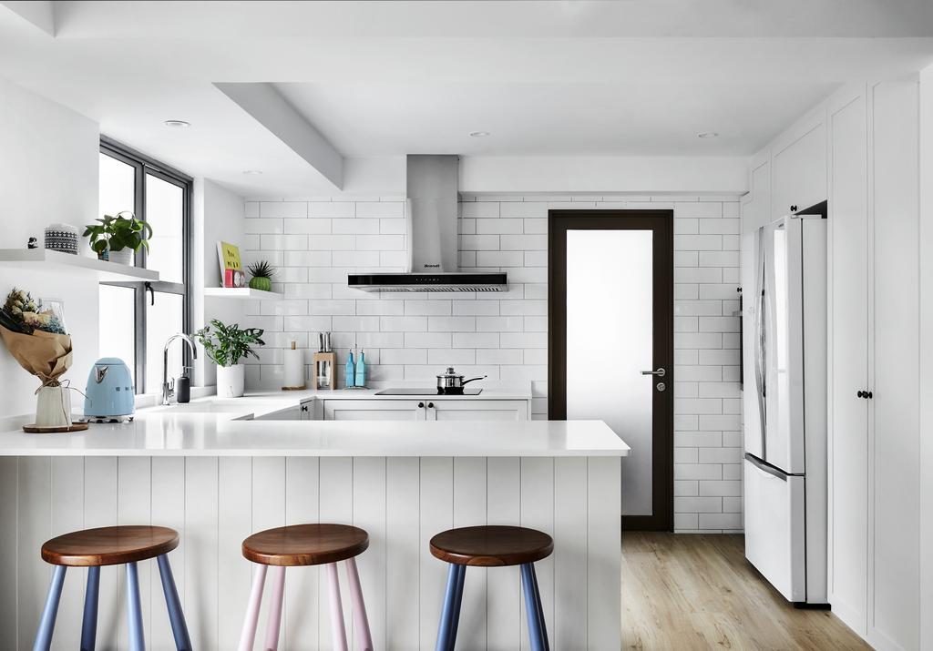 Contemporary, Condo, Dining Room, Aquarius by the Park, Interior Designer, Third Avenue Studio