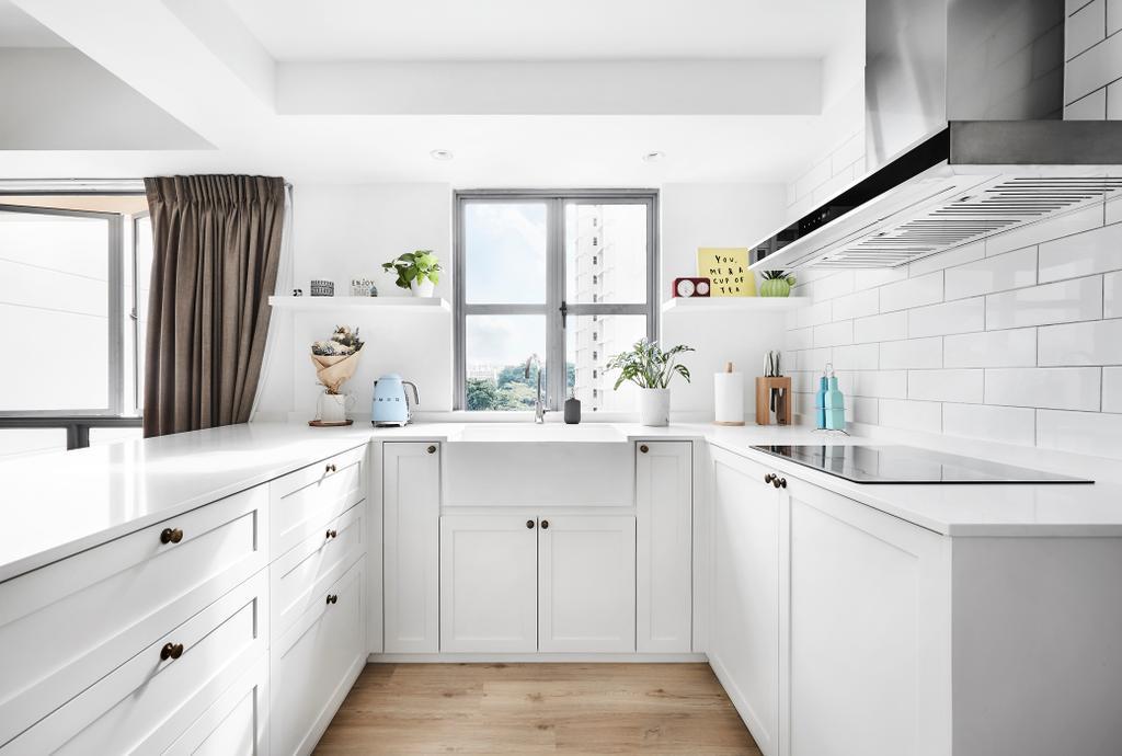 Contemporary, Condo, Kitchen, Aquarius by the Park, Interior Designer, Third Avenue Studio