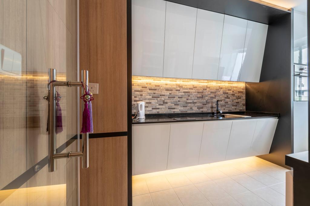Transitional, HDB, Kitchen, Clementi Avenue 1, Interior Designer, The Concept