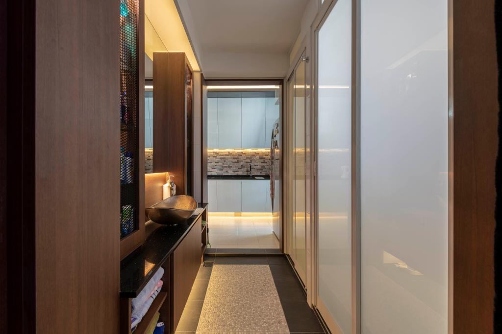 Transitional, HDB, Clementi Avenue 1, Interior Designer, The Concept