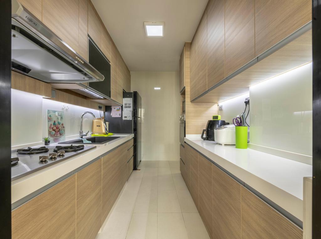 Contemporary, HDB, Kitchen, Jurong Street 64, Interior Designer, The Concept