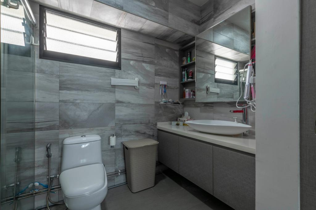 Contemporary, HDB, Bathroom, Jurong Street 64, Interior Designer, The Concept