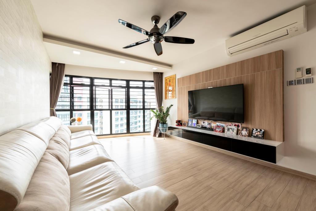 Contemporary, HDB, Living Room, Jurong Street 64, Interior Designer, The Concept