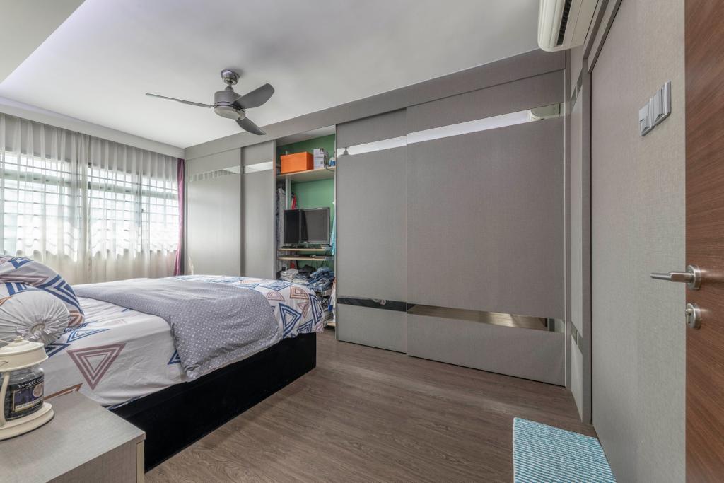 Contemporary, HDB, Bedroom, Jurong Street 64, Interior Designer, The Concept