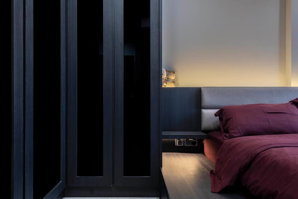 Contemporary, HDB, Bedroom, Keat Hong Close, Interior Designer, The Concept