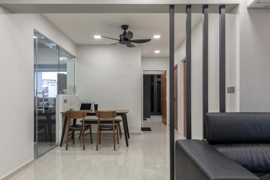 Contemporary, HDB, Dining Room, Keat Hong Close, Interior Designer, The Concept