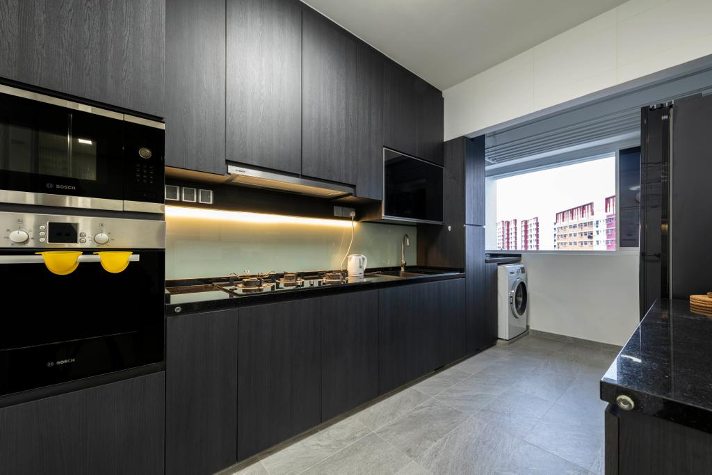 Contemporary, HDB, Kitchen, Keat Hong Close, Interior Designer, The Concept