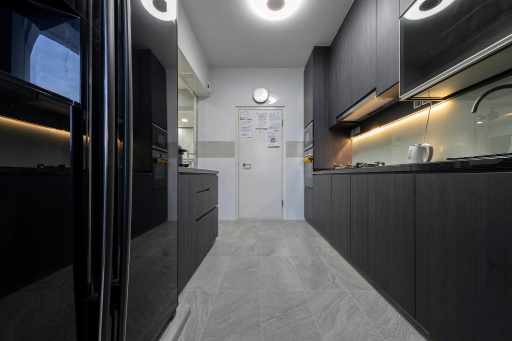 Contemporary, HDB, Kitchen, Keat Hong Close, Interior Designer, The Concept