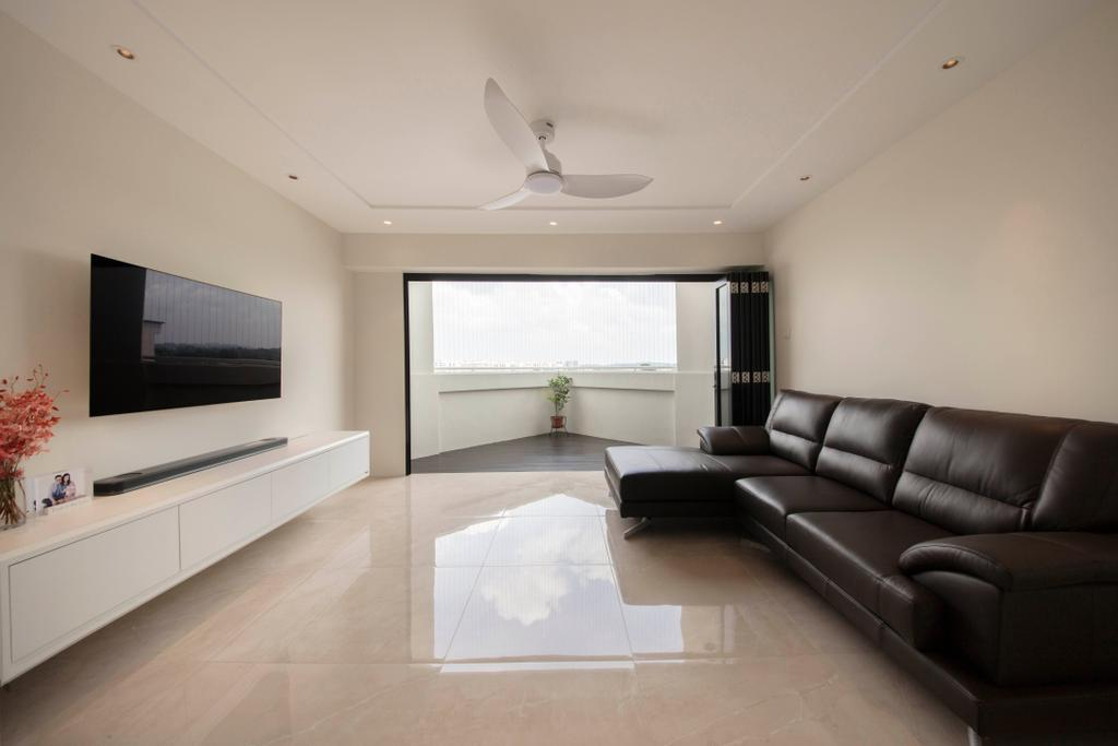Contemporary, HDB, Living Room, Yishun Street 71, Interior Designer, Dyel Design